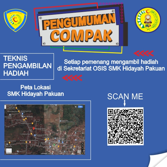 Pembagian hadiah lomba Competition Millennials HIPAK 2021